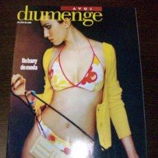 Coleccionismo de Revistas y Periódicos: SUPLEMENT DIUMENGE DIARI AVUI 2 DE JUNY DEL 2002. Lote 31986700
