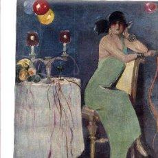 Coleccionismo de Revistas y Periódicos: MADRID 1924 PALACE HOTEL SALON CORTES HOJA REVISTA. Lote 31990513