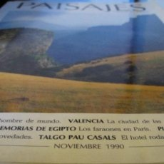 Coleccionismo de Revistas y Periódicos: PAISAJES DESDE EL TREN. Lote 32001324