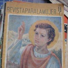 Coleccionismo de Revistas y Periódicos: REVISTA PARA LA MUJER DICIEMBRE 1941 . Lote 32036075