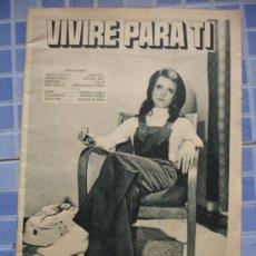 Coleccionismo de Revistas y Periódicos: REVISTA VIVIRE PARA TI. Lote 32059816