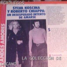 Coleccionismo de Revistas y Periódicos: GRANDES AMORES COLECCIONABLE REVISTA TELE INDISCRETA SYLVA KOSCINA. Lote 32077221
