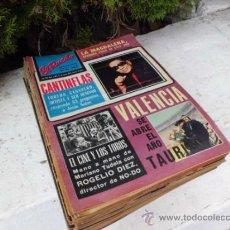Coleccionismo de Revistas y Periódicos: LOTE DE 40 REVISTAS DE EL RUEDO, AÑO 73 TOROS TAUROMAQUIA FIESTA NACIONAL TOREO. Lote 32082781
