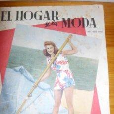 Coleccionismo de Revistas y Periódicos: REVISTA EL HOGAR Y LA MODA DE 1946. Lote 32149429
