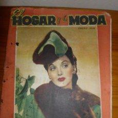 Coleccionismo de Revistas y Periódicos: REVISTA EL HOGAR Y LA MODA ENERO DE 1946. Lote 32149462