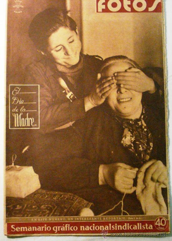 FOTOS - SEMANARIO GRAFICO NACIONAL SINDICALISTA Nº 146 (Coleccionismo - Revistas y Periódicos Modernos (a partir de 1.940) - Otros)