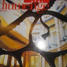 Coleccionismo de Revistas y Periódicos: DIUMENGE,..AVUI,...14 D´ABRIL DEL 2002 LA PRIMAVERA DE GAUDI. Lote 32191288