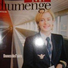 Coleccionismo de Revistas y Periódicos: DIUMENGE,..AVUI,...18 DE AGOST DEL 2002 DONES DEL´AIRE. Lote 32191375