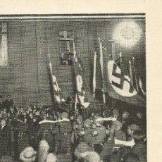 Coleccionismo de Revistas y Periódicos: * ALEMANIA * NAZISMO * HÍTLER * MANIFESTACIÓN DEL PARTIDO NACIONAL-SOCIALISTA - 1933. Lote 32219116