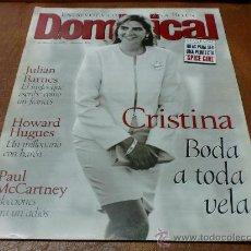 Coleccionismo de Revistas y Periódicos: REV DOMINICAL 5/97 INFANTA CRISTINA AMPLIO RPTJE.ANA BELEN,VIVICA FOX,STING,P.MACCARTNEY. Lote 32382420