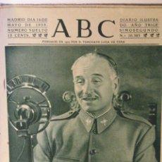 Coleccionismo de Revistas y Periódicos: ABC 16 DE MAYO DE 1939. Lote 43419221