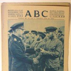 Coleccionismo de Revistas y Periódicos: ABC 25 DE NOVIEMBRE DE 1939. Lote 43419239