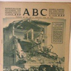 Coleccionismo de Revistas y Periódicos: ABC 30 DE NOVIEMBRE DE 1939. Lote 43419276