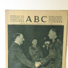 Coleccionismo de Revistas y Periódicos: ABC 2 DE DICIEMBRE DE 1939. Lote 43419292