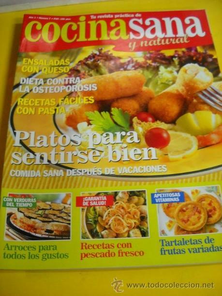 revista cocina sana y natural nº7 - Comprar Otras revistas y ...