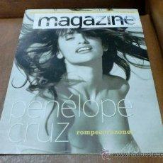 Coleccionismo de Revistas y Periódicos: REV .MAGAZINE -9/2001 PENELOPE CRUZ AMPL.RPTJE.A. AMENÁBAR,IVANA TRUMP,REP.DOMINICANA. Lote 177722929