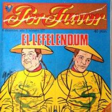 Coleccionismo de Revistas y Periódicos: POR FAVOR Nº 127. Lote 32397103
