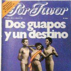 Coleccionismo de Revistas y Periódicos: POR FAVOR Nº 156. Lote 32397150