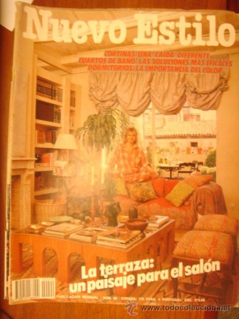 NUEVO ESTILO Nº 90, LA TERRAZA: UN PAISAJE PARA EL SALON, CORTINAS, CUARTOS  DE BAÑO, DORMITORIOS