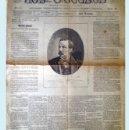 Coleccionismo de Revistas y Periódicos: MADRID 30 SEPT.1883.- LOS SUCESOS - REVISTA SEMANAL ILUSTRADA.4 PAG, MEDIDAS MODIFICADAS 34 X 50 CM.. Lote 32427437