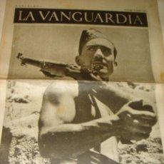 Coleccionismo de Revistas y Periódicos: PERIODICO LA VANGUARDIA 20 JUNIO 1937 GUERRA CIVIL 4 PAGINAS . Lote 32462269