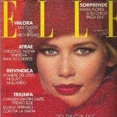Coleccionismo de Revistas y Periódicos: REVISTA ELLE ESPAÑA, Nº 74, NOVIEMBRE 1992. Lote 43564094