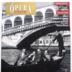 Coleccionismo de Revistas y Periódicos: OPERA ACTUAL REVISTA DE MUSICA Nº 110. Lote 32493446