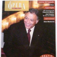 Coleccionismo de Revistas y Periódicos: OPERA ACTUAL REVISTA DE MUSICA Nº 111. Lote 32493454