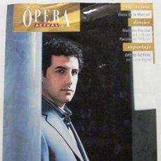 Coleccionismo de Revistas y Periódicos: OPERA ACTUAL REVISTA DE MUSICA Nº 112. Lote 32493465