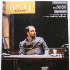 Coleccionismo de Revistas y Periódicos: OPERA ACTUAL REVISTA DE MUSICA Nº 114. Lote 32493480