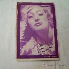 Coleccionismo de Revistas y Periódicos: ALBUM FOTOGRAMAS N º23, JOAN CRAWFORD. Lote 32541441