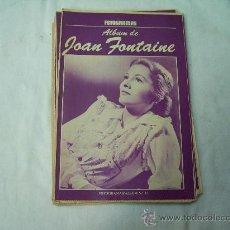 Coleccionismo de Revistas y Periódicos: ALBUM FOTOGRAMAS N º27, JOAN FONTAINE. Lote 32541558