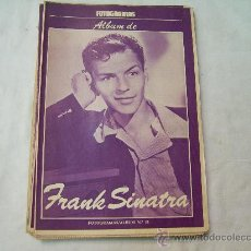 Coleccionismo de Revistas y Periódicos: ALBUM FOTOGRAMAS N º31 FRANK SINATRA. Lote 32541798