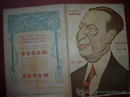 Coleccionismo de Revistas y Periódicos: NOVELA TEATRAL.-LOTE DE LAS PRIMERAS 50 NOVELAS TEATRALES.-TEATRO. - Foto 6 - 32504808