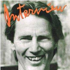 Coleccionismo de Revistas y Periódicos: ANDY WARHOL'S INTERVIEW MAGAZINE SEPTEMBER 1988. Lote 32508678