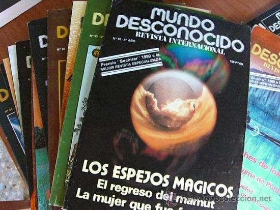 REVISTA MUNDO DESCONOCIDO COLECCION COMPLETA. (Coleccionismo - Revistas y Periódicos Modernos (a partir de 1.940) - Otros)
