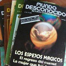 Coleccionismo de Revistas y Periódicos: REVISTA MUNDO DESCONOCIDO COLECCION COMPLETA.. Lote 113384952