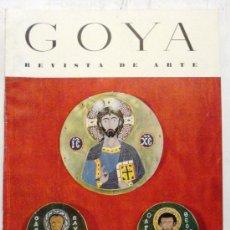 Coleccionismo de Revistas y Periódicos: GOYA - REVISTA DE ARTE Nº 3 AÑO 1954. Lote 32560742