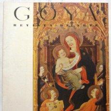Coleccionismo de Revistas y Periódicos: GOYA - REVISTA DE ARTE Nº 5 AÑO 1955. Lote 32560774