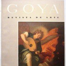 Coleccionismo de Revistas y Periódicos: GOYA - REVISTA DE ARTE Nº 14 AÑO 1956. Lote 32560965