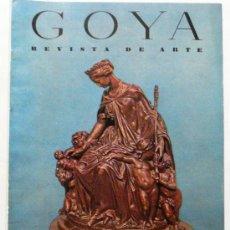 Coleccionismo de Revistas y Periódicos: GOYA - REVISTA DE ARTE Nº 20 AÑO 1957. Lote 32561001