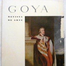 Coleccionismo de Revistas y Periódicos: GOYA - REVISTA DE ARTE Nº 24 AÑO 1958. Lote 32561066