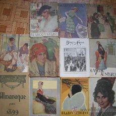 Coleccionismo de Revistas y Periódicos: LOTE 19 BLANCO Y NEGRO AÑOS 1920,1931. Lote 49109695