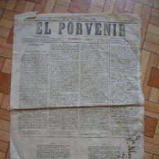 Colecionismo de Revistas e Jornais: EL PORVENIR - SANTIAGO, MARTES 23 DE MARZO DE 1880. Lote 32568361