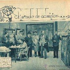 Coleccionismo de Revistas y Periódicos: JURADO DE LA EXPOSICIÓN NACIONAL DE BELLAS ARTES: CAPUZ, CUBELLS, LLORENS, PRIETO, ORTELLS - 1934. Lote 32604945