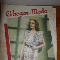 Coleccionismo de Revistas y Periódicos: REVISTA EL HOGAR Y LA MODA DE JULIO DE 1947. Lote 32605131