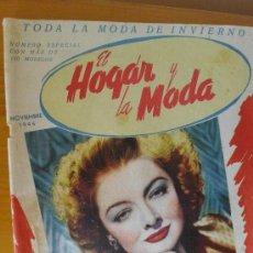 Coleccionismo de Revistas y Periódicos: REVISTA EL HOGAR Y LA MODA NÚMERO ESPECIAL INVIERNO DE 1946. Lote 32605298