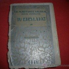 Coleccionismo de Revistas y Periódicos: G. MARTINEZ SIERRA.- TU ERES LA PAZ. NOVELA AÑO 1930.. Lote 32609084