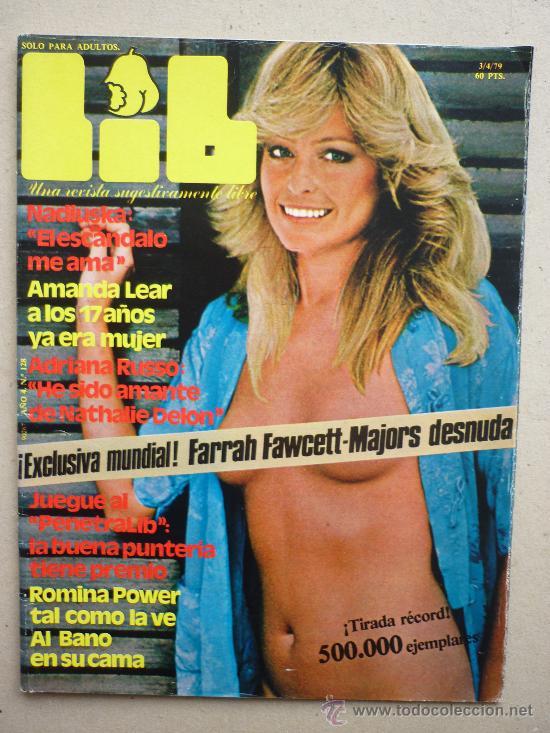 REVISTA. LIB. Nº 128 - 79. FARRAH FAWCETT (Coleccionismo - Revistas y Periódicos Modernos (a partir de 1.940))