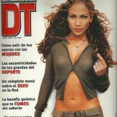 Coleccionismo de Revistas y Periódicos: REVISTA DT-JENNIFER LOPEZ. Lote 75915527